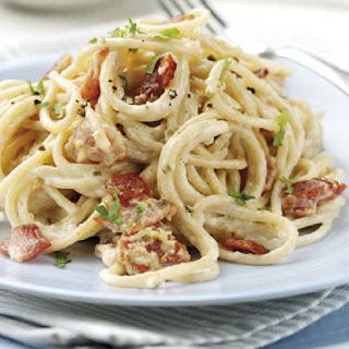 Baked Spaghetti Carbonara