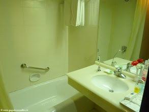 Photo: #015-La salle de bain de l'hôtel Yun Shan à Chengde.
