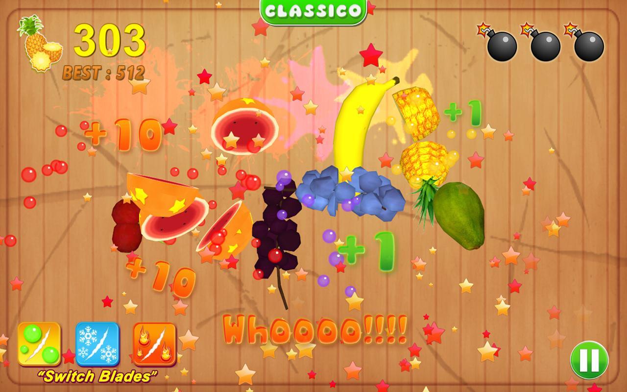 Ninja fruit cutter game free download - Fruit Cutting Game Screenshot