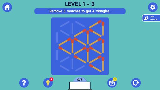 Matchstick Puzzle apkmind screenshots 2