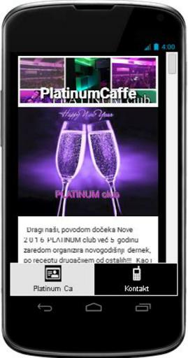 Platinum Caffe Club Zagreb