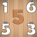 Wrong Wooden Slots with Crying Numbers 1 to 10 icon