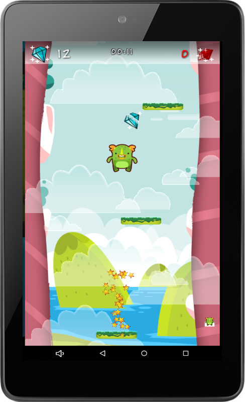 MonsterUp Adventures- screenshot