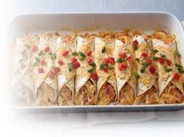 Cheesy Chicken Enchiladas Recipe