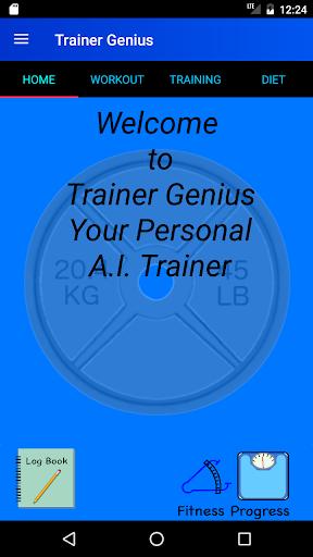 Bodybuilding Gym Trainer Pro screenshot 1