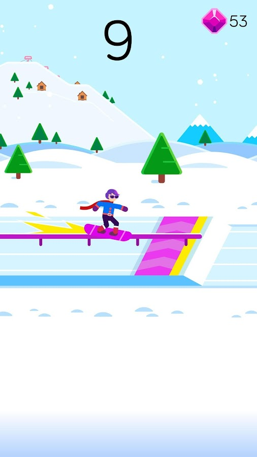Ketchapp Winter Sports- screenshot