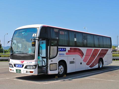 西鉄高速バス「桜島号」 9135 えびのPAにて その1