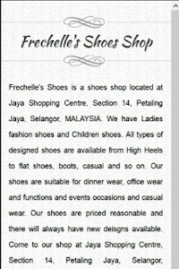 Frechelle's Shoes:Boot n Shoes screenshot 2