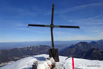 Photo: ... in pred nami se pokaže vrh