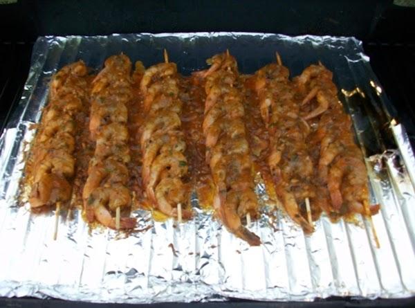 Shrimp Diablo Skewers Recipe