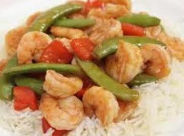 Sweet And Sour Shrimp Stir-fry Recipe