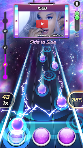 Tap Tap Reborn 2: Popular Songs Rhythm Game  captures d'écran 1