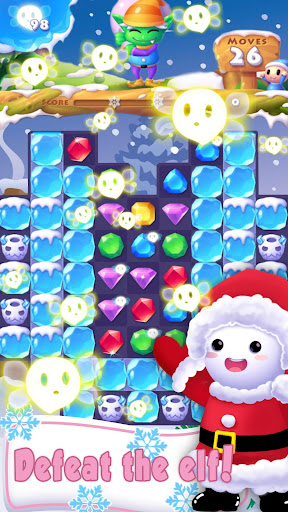 Ice Crush 2020 -A Jewels Puzzle Matching Adventure apktreat screenshots 2