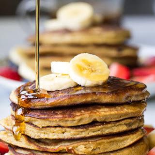 Paleo Banana Coconut Flour Pancakes {Grain Free, Dairy Free} Recipe