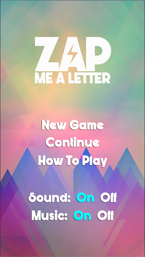 Zap Me A Letter - screenshot