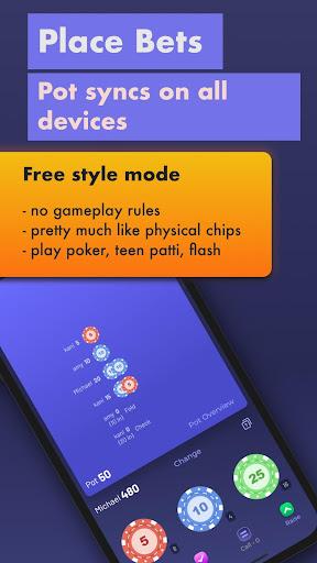 Chips of Fury - virtual poker chips screenshots 4