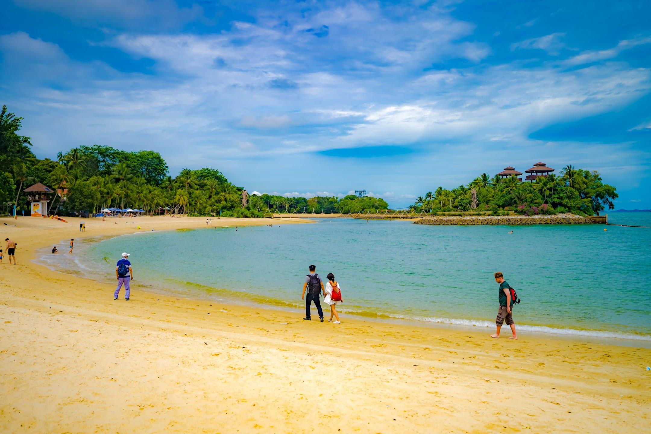 シンガポール セントーサ パラワンビーチ7