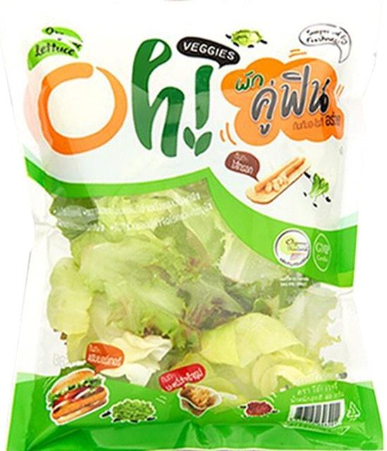 1. Oh! Veggies สลัดมิกซ์ โอ้เวจจี