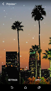 Los Angeles Live Wallpaper - náhled