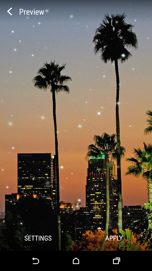 los angeles live wallpaper android apps on google play