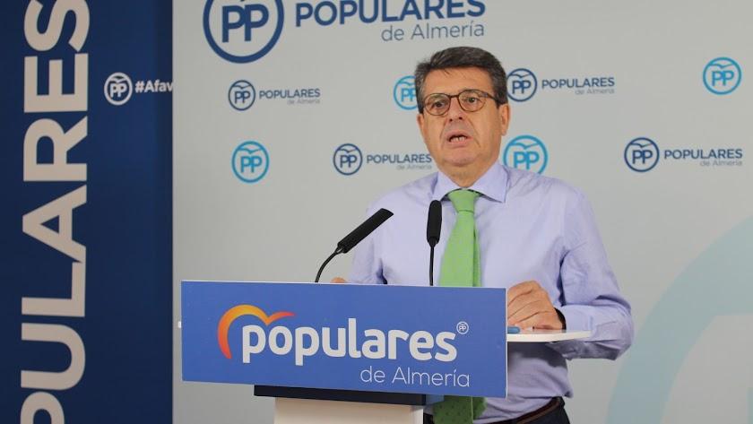 Juan José Matarí, diputado nacional del Partido Popular de Almería.