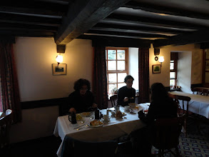 Photo: Breakfasting at the excellent Anchor Inn in Lower Lydbrook