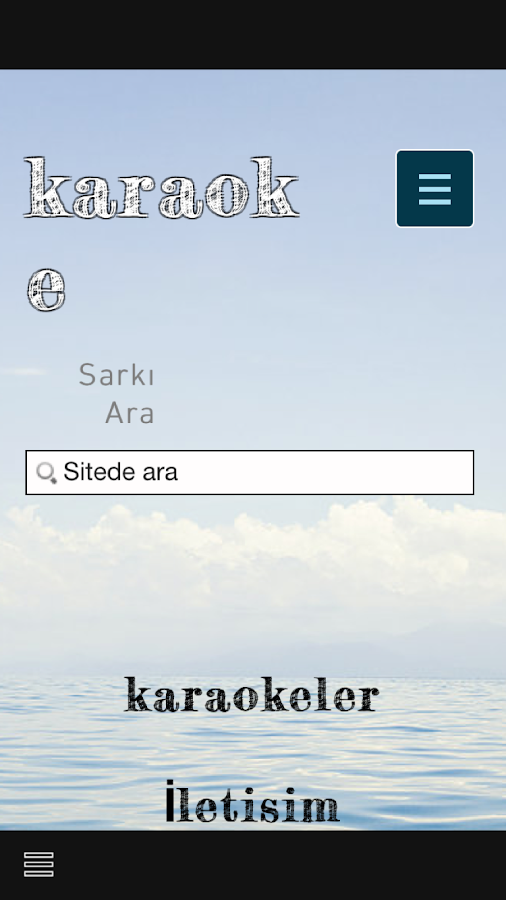 karaoke- screenshot