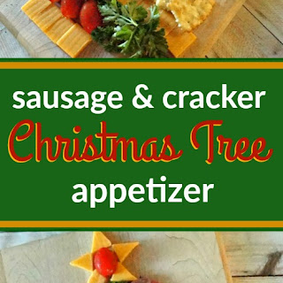 Cheese Cracker and Sausage Christmas Tree Appetizer Recipe