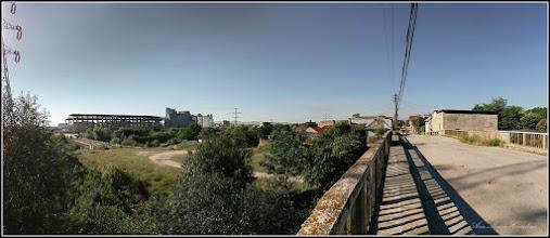 Photo: Pod si strada Panait Cerna si Miron Costin - peste Str. Funicularului si Paraul Sandulesti - vedere zona  - 2017.07.18