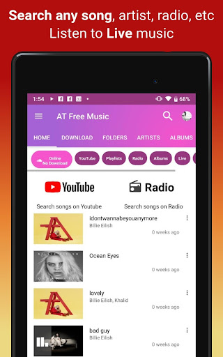 Download music, Free Music Player, MP3 Downloader 1.121 screenshots 18
