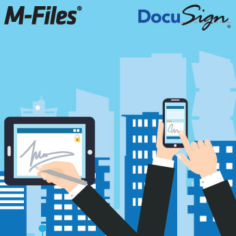 Webinar: Digital Signatures with M-Files and DocuSign