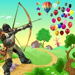 Real Crossbow Balloons shooter Icon