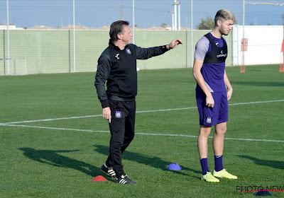Dejan Joveljic en Marko Pjaca waren op training bij Anderlecht