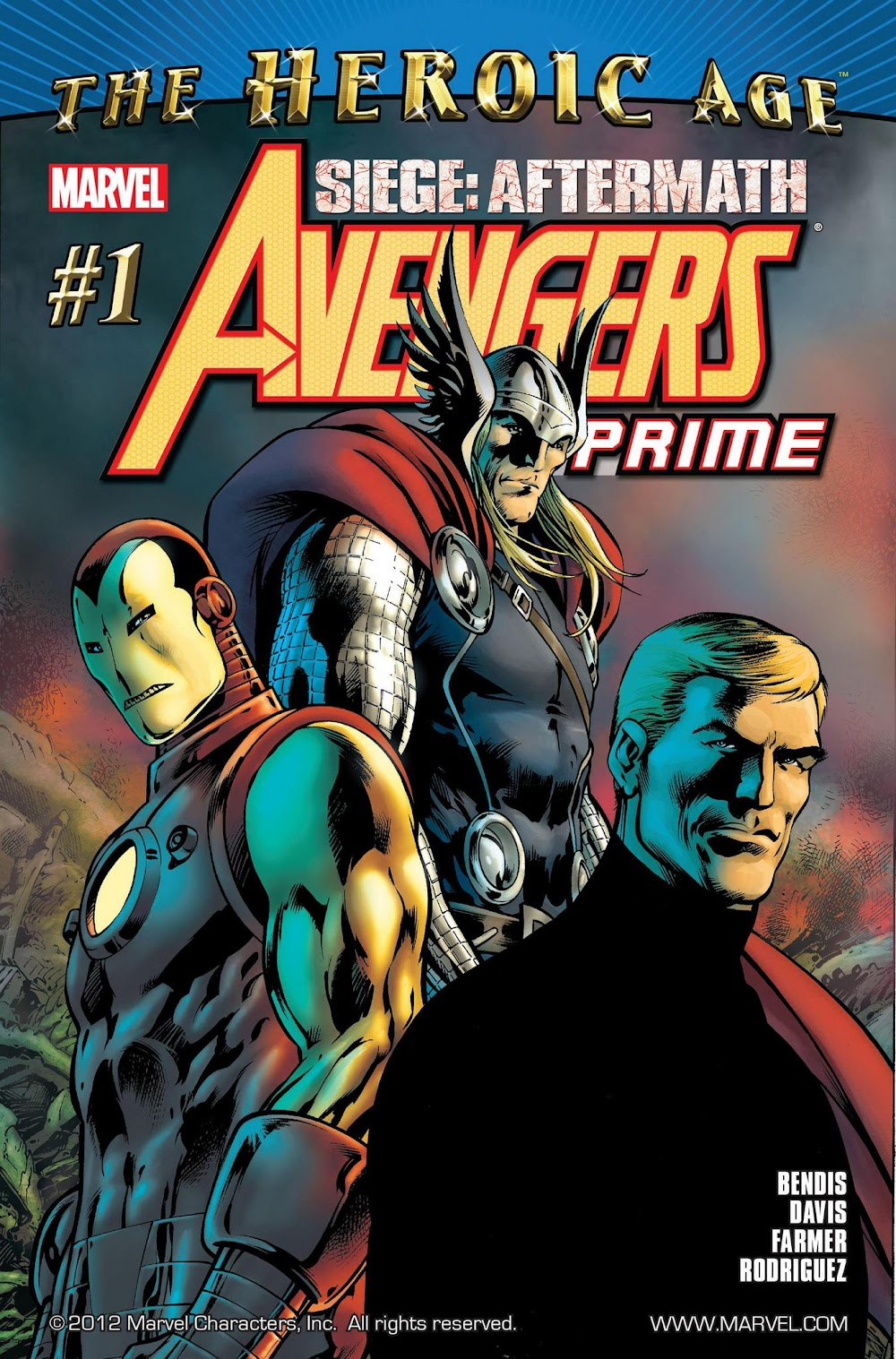 Avengers Prime (2010) - complete