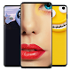 Hide Camera for Galaxy S10 Wallpapers Cutout