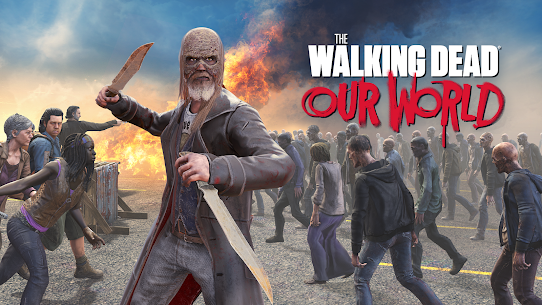 The Walking Dead: Our World Mod Apk Download For Android and Iphone 1