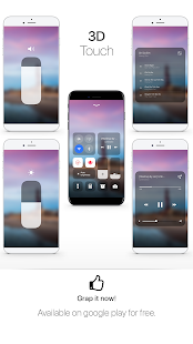 iNotify: Control Panel OS 11 (Music Control) - náhled