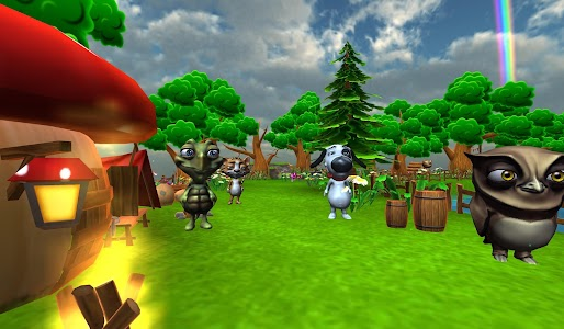 VR Talking Cat & Dog Park screenshot 1