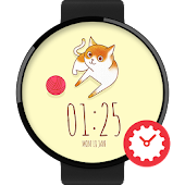 HeyKittyKitty watchface