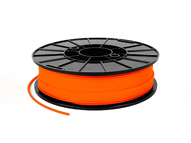 NinjaTek NinjaFlex Lava Orange TPU Filament - 2.85mm (1kg)
