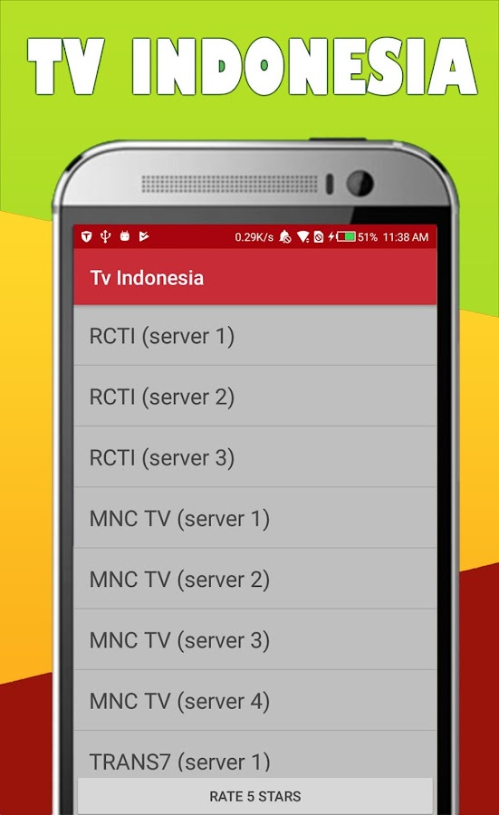 rcti tv indonesia - android apps on google play - Mobile Tv Indonesia
