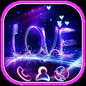 Neon Light Dreamy Love Theme icon