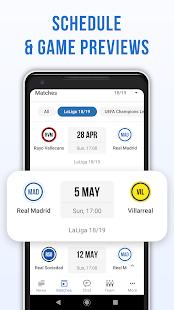 Real Live: Not official soccer app for Madrid Fans