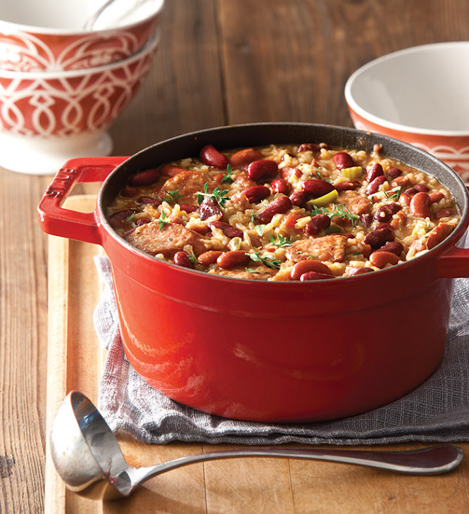 Quick-and-Easy Red Beans and Rice Recipe