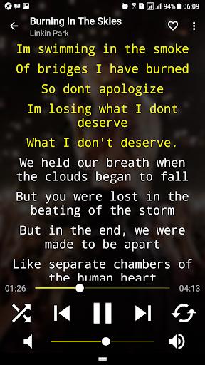 Musicpower - Music Player and Lyrics 1.7.1 screenshots 2