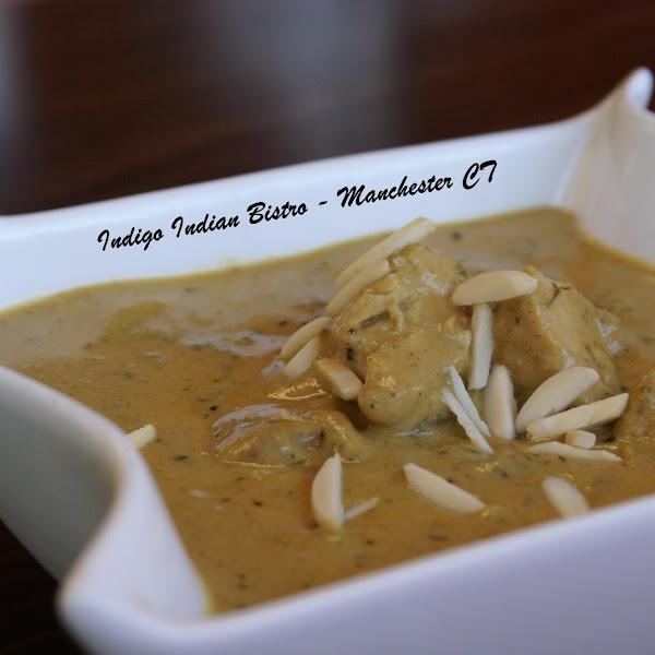 Chicken Khorma ( #GlutenFree ) - Chicken cooked in creamy cashew sauce