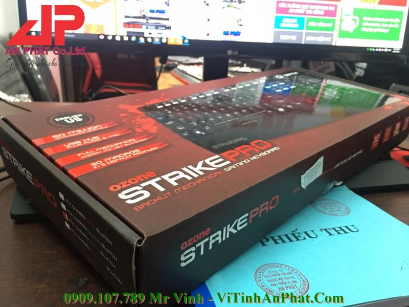 Phím Cơ Ozone Gaming Strike PRO