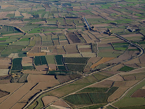 Photo: Si fuera El Suereste asiático podrían parecer arrozales, pero lo tenemos aquí.