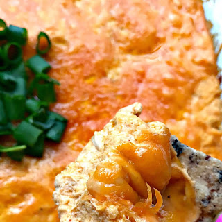 Low-Carb Buffalo Chicken Dip.