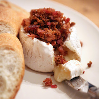 Candied Bacon Baked Brie.